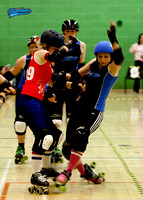 Bombshell Bruisers versus Bristol Harbour Harlets A Team