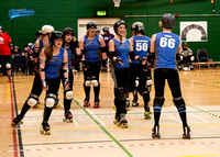 Lincolnshire Bombers Dame Busters at Vendetta Vixens