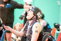 Lincolnshire Bombers Roller Girls v Borderland Brawlers 30th April 2017