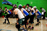 Lincolnshire Bombers v Croydon Roller Derby